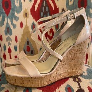 Jessica Simpson Wedges Size 10